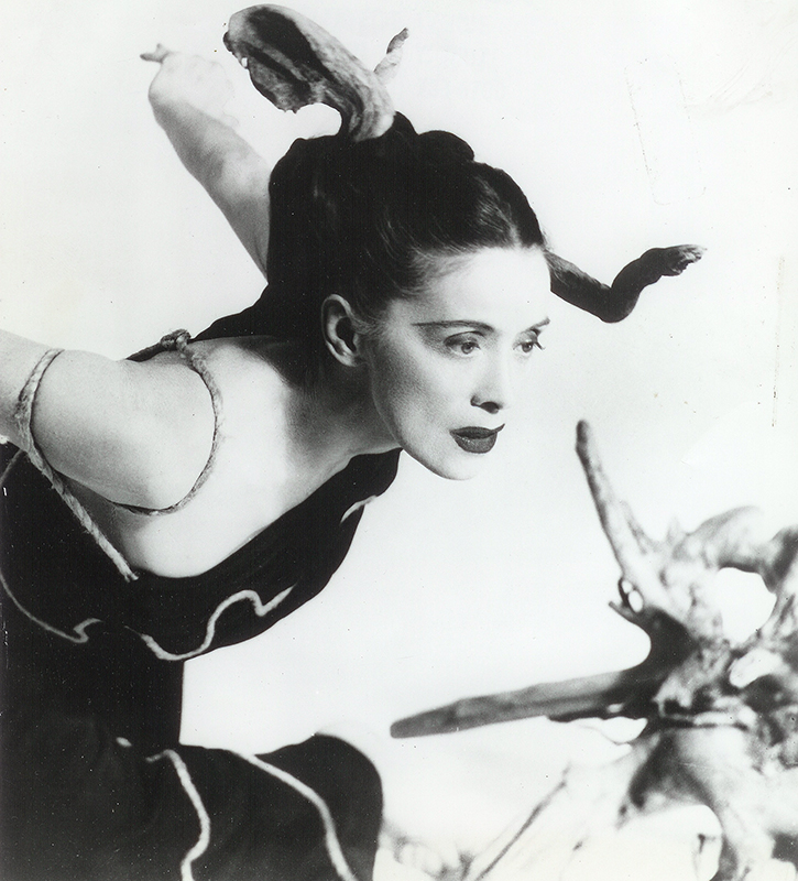 Martha Graham in 'Cave of the Heart'