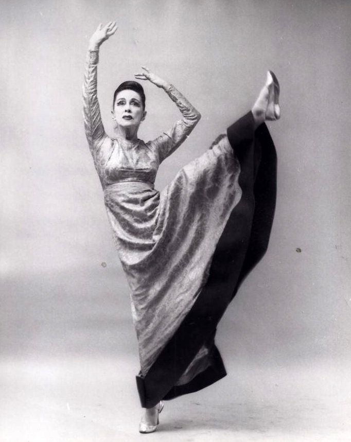 Photo by Martha Swope of Martha Graham in 'Episodes'