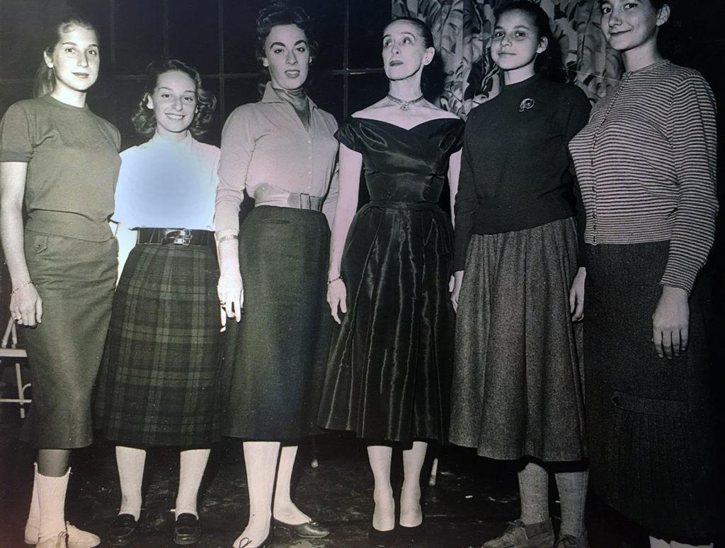 Martha Graham with Letty Cottin Pogrebin